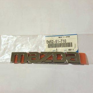 Mazda Emblem Badge D65251710.