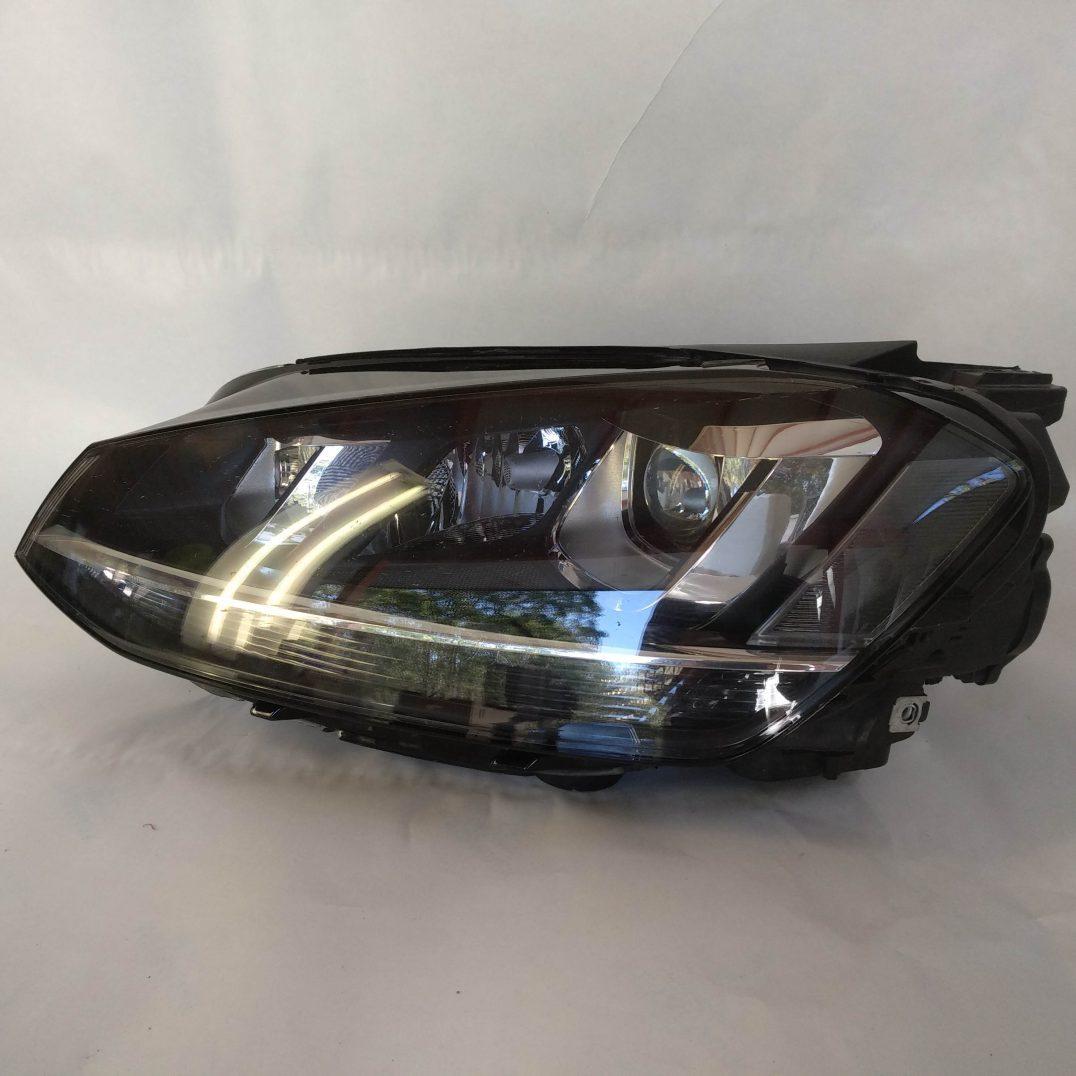 volkswagen left headlight xenon vw golf 7 5g1941031. Black Bedroom Furniture Sets. Home Design Ideas